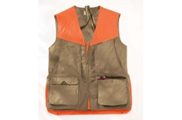 Beretta Upland Vest, Light Brown/ Orange, Large GUX32587081GL