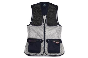 Beretta Womans Ambidextrous Shooting Vest, Navy, Lg GT2300740504L