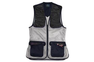 Beretta Womans Ambidextrous Shooting Vest, Navy, XL GT2300740504XL