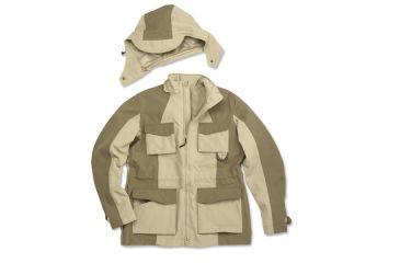 Beretta Womens Lightweight Multi-Climate Jacket, Tan/Olive, Large GD6130210807L