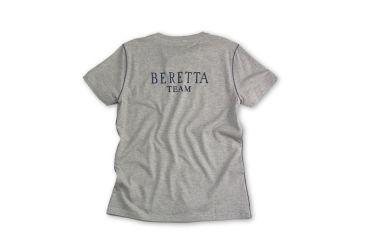 Beretta Womens Team T-Shirt, Grey Mel, Large TS1072380905L