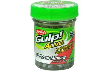 Berkley Gulp! Alive! Minnow Bait, 1in., Emerald Shiner 176812