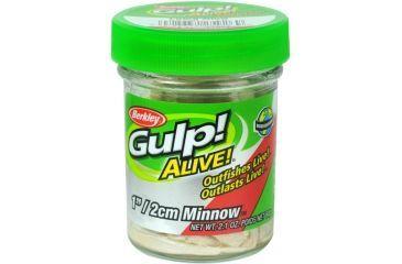 Berkley Gulp! Alive! Minnow Bait, 1in., Luma Glow 176815