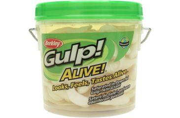 Berkley Gulp! Alive! Swimming Mullet Bait, 4in., Pearl White 176517