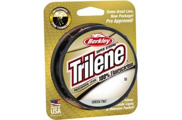 Berkley Trilene Fluorocarbon Professional Grade Filler Spool Line, 15 lb, 200 Yards, Green 179163