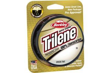 Berkley Trilene Fluorocarbon Professional Grade Filler Spool Line, 25 lb, 200 Yards, Green 179166