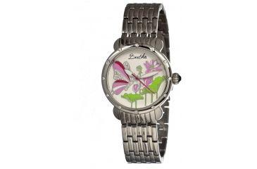 Bertha Stella Ladies Watch, Silver Metal Band, Silver Bezel, Multicolor Analog Dial, Silver Hand BTHBR1601