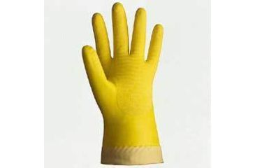 Best Manufacturing Best Master Natural Rubber Gloves, Best Manufacturing 709S-07 Unlined, 16 Mil Small