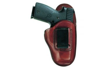 Bianchi 100 Professional Holster - Plain Tan, Left Hand 19229