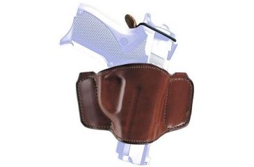 Bianchi 106 Minimalist with Snap Holster - Plain Tan, Left Hand 19265