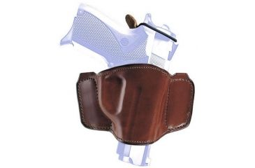 Bianchi 106 Minimalist with Snap Holster - Plain Tan, Left Hand 19269