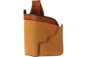 Bianchi 152 Pocket Piece Holster, Plain Tan, Left Hand - S&W 36, 640 - 25201
