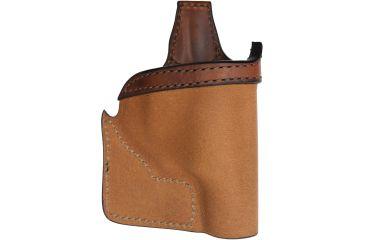 Bianchi 152 Pocket Piece Holster, Plain Tan, Right 25204