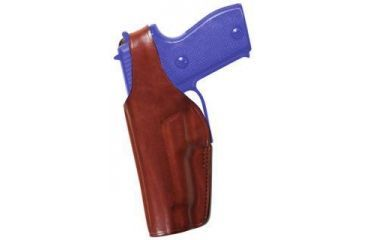 Bianchi 19L Thumbsnap Holster, Plain Tan, Left Hand - Glock 17/22 & Similar - 14764