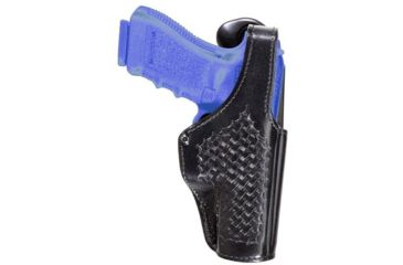 Bianchi 390 Interceptor Duty Holster - Plain Black 23665