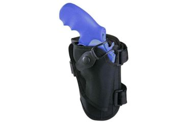 Bianchi 4750 Ranger Triad Ankle Holster - Black, Right Hand, S&W K-Frame 2in bbl and Similar