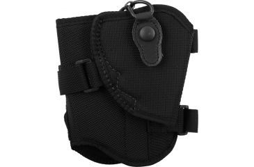 Bianchi 4750 Ranger Triad Right Hand Black Ankle Holster - Ruger SP101 2in and Similar - 19742