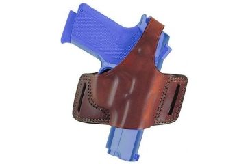 Bianchi 5 Black Widow Holster - Plain Black, Left Hand 15711