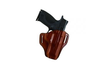 Bianchi 57 Remedy Leather Pancake Holster, S&W M&P 9C - Black, Left Hand