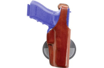 Bianchi 59 Special Agent Holster - Plain Tan, Left Hand 19133