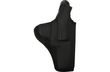 Bianchi 7001 AccuMold Thumbsnap Holster, Black, Right 17739