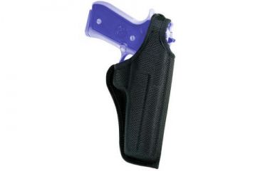 Bianchi 7001 AccuMold Thumbsnap Holster - Black, Right Hand 17721