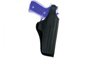 Bianchi 7001 AccuMold Thumbsnap Holster - Black, Right Hand 17723