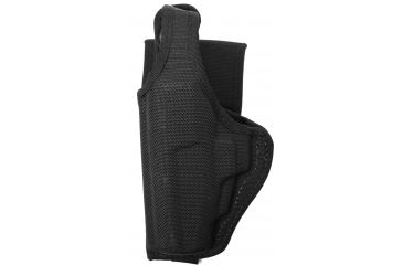 Bianchi 7120 AccuMold Defender Duty Holster, Black, Left 18775