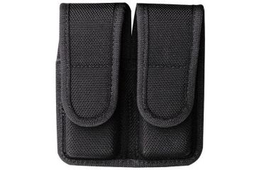 Bianchi 7302 AccuMold Double Magazine Pouch - Black, 18440
