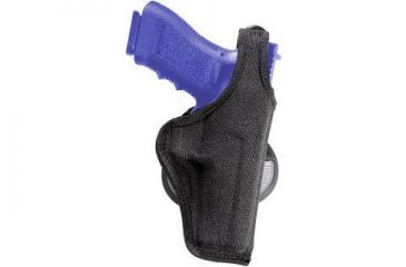 Bianchi 7500 AccuMold Paddle Holster - Black, Left Hand 18823
