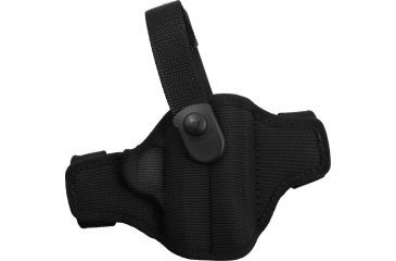Bianchi 7506 AccuMold Belt Slide Holster, Black, Right 17862