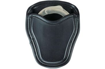 Bianchi 7734 LeatherLite Open Cuff Case - Black 19878