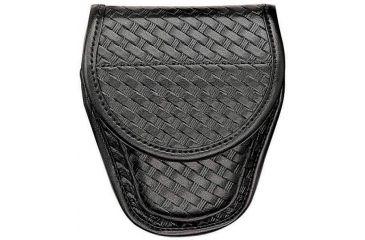 Bianchi 7918 Hiatt's UL-1 Cuff Case - Plain Black, Hidden 23856