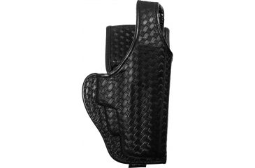 Bianchi 7920 Defender II Duty Holster, Basket Black, Right Hand - H&K P2000, USP Compact .40 - 22044