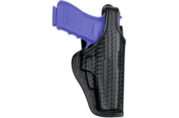 Bianchi 7920 Defender II Duty Holster - Basket Black, Right Hand 23366