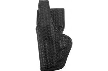 Bianchi 7920 Defender II Duty Accumold Belt Holster Basket Black, Left Hand