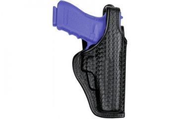 Bianchi 7920 Defender II Duty Holster - Hi-Gloss, Left Hand 22335