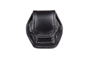 Bianchi 7935 EDW Hi-Gloss Black Single Pouch w/ Hidden Snap for Taser X26 Cartridge