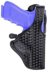 Bianchi 7940 DutyLok Duty Holster - Basket Black, Right Hand 23066