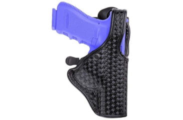 Bianchi 7940 DutyLok Duty Holster - Basket Black, Right Hand 23078