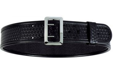 Bianchi 7960 AccuMold Elite Sam Browne Belt - Basket Black, Chrome 22215