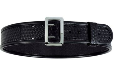 Bianchi 7960 AccuMold Elite Sam Browne Belt - Basket Black, Chrome 22229