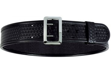 Bianchi 7960 AccuMold Elite Sam Browne Belt - Plain Black, Brass 22274