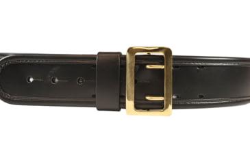 Bianchi 7960 AccuMold Elite Sam Browne Belt - Plain Black, Brass, Waist Size 38-40in, 22271