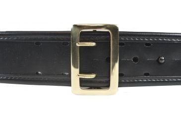 Bianchi 7960 AccuMold Elite Sam Browne Belt - Plain Black, Brass, Waist Size 40-42in, 22272