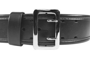 Bianchi 7960 AccuMold Elite Sam Browne Belt - Plain Black, Chrome, Waist Size 30-32in, 22214