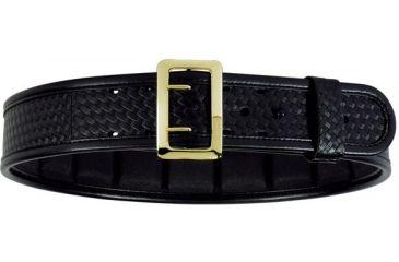 Bianchi 7960 AccuMold Elite Sam Browne Belt - Basket Black, Brass, Waist Size 28-30in, 22244