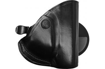 Bianchi 83 PaddleLok Holster - Plain Black, Right Hand, Glock 26/27 - 23228