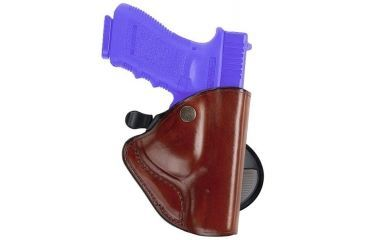 Bianchi 83 PaddleLok Holster - Plain Black, Right Hand 23234