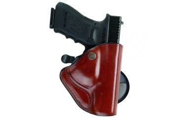 Bianchi 83 PaddleLok Holster - Plain Tan, Left Hand 23203